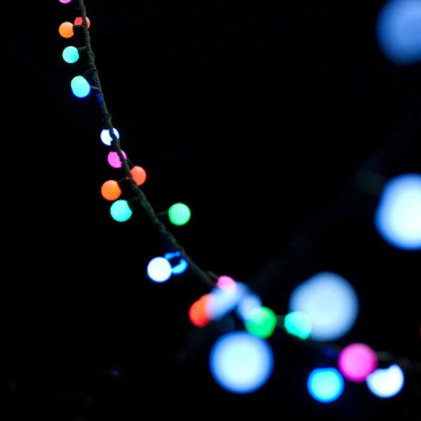 LED LICHTERKETTE BERRYLIGHT RGB OUTDOOR 50 LEDS 61029 -Abverkaufsartikel-