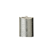 MAGIC FLAME LED WACHSKERZE SILBER 10CM 32310 -Abverkaufsartikel-