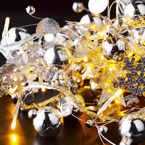 LED LICHTERKETTE SOPHIE GOLD 20TLG. 32333 -Abverkaufsartikel-