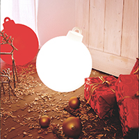 SHINING CHRISTMAS BALL ROT 32375 -Abverkaufsartikel-