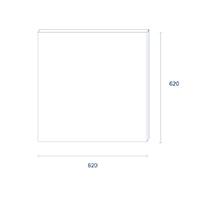 Vorschau: Panel Einbau HCL SKY 620mm weiss 120W 2500-10000K IP50 Ra95