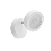 4,8W LED DONNA Wall 1FLG WEISS 2700K DIM
