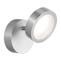 4,8W LED DONNA Wall 1FLG FARBE: NICKEL 2700K DIM