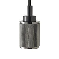 Pendelleuchte RIPPLE 1flg. schwarz E27 Kabellänge 1200mm Sockeldurchm. 47mm