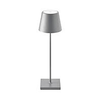 Vorschau: Akku-Tischleuchte NUINDIE 380mm anthrazit rund 2,2W 2700K IP54 180lm Ra85 dim