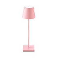 Vorschau: Akku-Tischleuchte NUINDIE 380mm rosa rund 2,2W 2700K IP54 180lm Ra85 dim