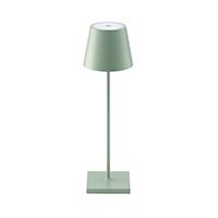 Vorschau: Akku-Tischleuchte NUINDIE 380mm grün rund 2,2W 2700K IP54 180lm Ra85 dim