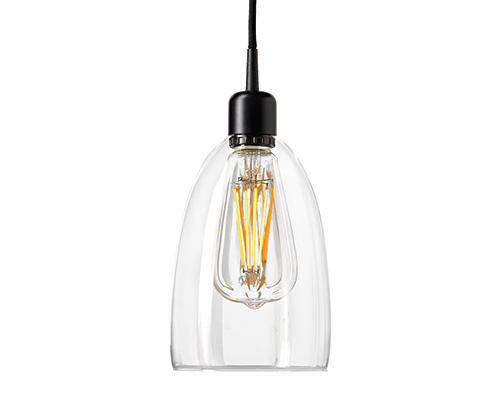 GLASPENDEL-LEUCHTE 170MM -Abverkaufsartikel-