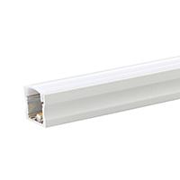 RAL 9010 reinweiß glatt glänzend Pulverbeschichtung ALU-Profil 1m