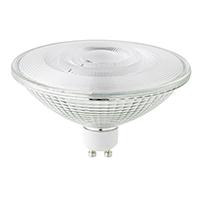15W ES111 Luxar Glas GU10 1100lm 40° 2700K dim