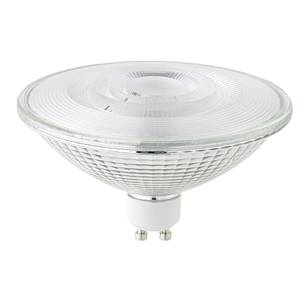 15W ES111 Luxar Glas GU10 1100lm 40° 3000K dim
