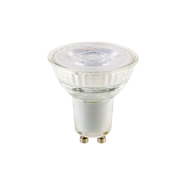 7.4W Luxar Glas GU10 460lm 3000K dim