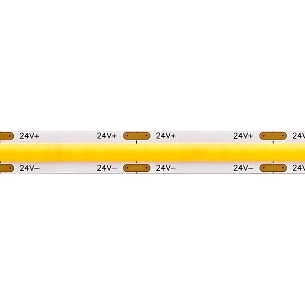 8W/m COB SHORT CUT LED-Streifen 2700K 5m IP20 24V 630lm RA90