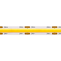 Vorschau: 8W/m COB SHORT CUT LED-Streifen 3000K 5m IP20 24V 630lm RA90