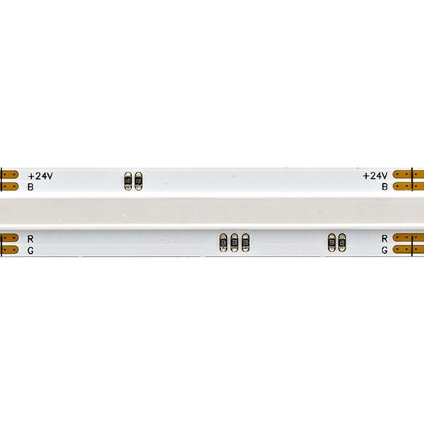 15W/m COB RGB LED-Streifen RGB 5m 1134 LED/m IP20 24V 646lm