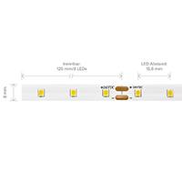 Vorschau: 3,6W/m PRO LED-Streifen 3000K 5m 64 LED/m IP20 24V 473lm RA90