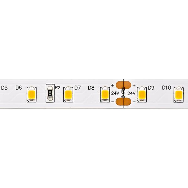 7,2W/m PRO LED-Streifen 2400K 5m 80 LED/m IP20 24V 900lm RA90