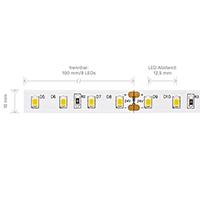 Vorschau: 7,2W/m PRO LED-Streifen 3000K 5m 80 LED/m IP20 24V 955lm RA90