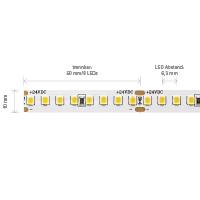 Vorschau: 14,4W/m PRO LED-Streifen 4000K 5m 160 LED/m IP20 24V 1950lm RA90