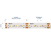 Vorschau: 20W/m Tunable White LED-Streifen 5000-2700K 5m 364 LED/m IP20 24V 2119lm RA95