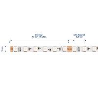 Vorschau: 10W/m RGB LED-Streifen SLIM 5m 120 LED/m IP20 24V 418lm