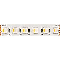 19,2W/m RGB/2400K LED-Streifen 5m 96 LED/m IP20 24V 1080lm RA80