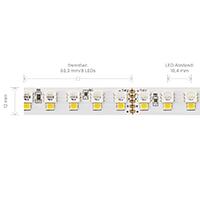 Vorschau: 24W/m RGB+W LED-Streifen RGB/3000K 5m 192 LED/m IP20 24V 1853lm RA90