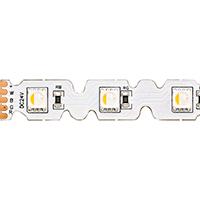 14,4W/m RGB/W S-SHAPE LED-Streifen RGB/3000K 5m 48 LED/m IP20 24V 882lm RA80