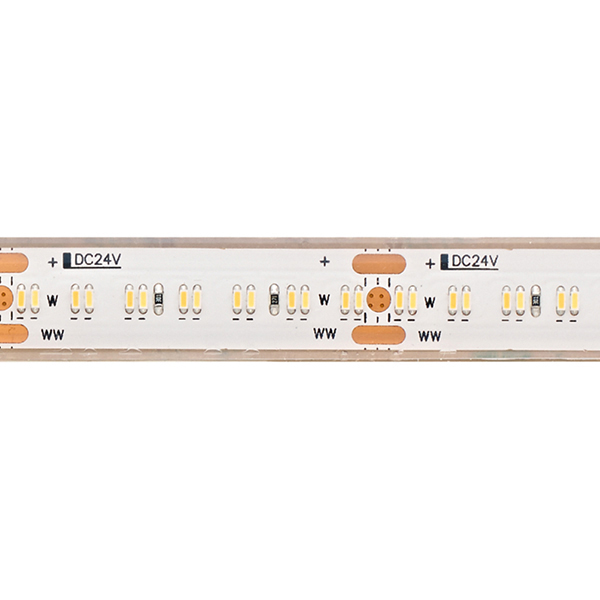 20W/m TUNABLE WHITE LED-Streifen 5000-2700K 5m 364 LED/m IP67 24V 2020lm RA95