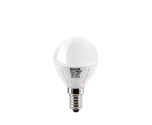 3W LED LUXAR KUGEL E14 OPAL DIM -Abverkaufsartikel-