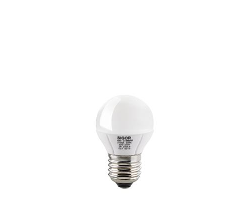 3W LED LUXAR KUGEL E27 OPAL DIM -Abverkaufsartikel-