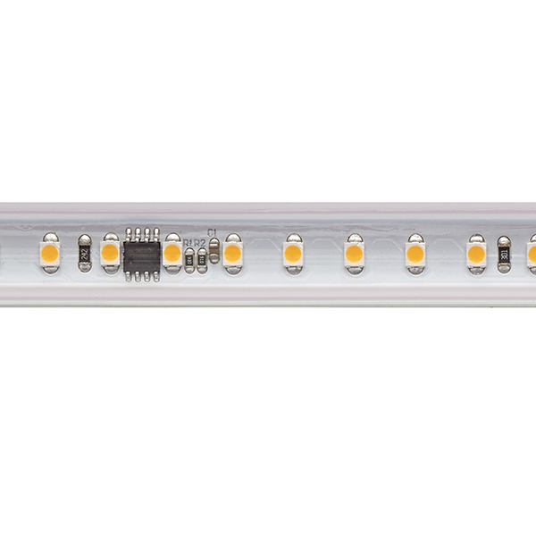 14W/m Hochvolt LED-Streifen 2700K 10m 72LED/m IP65 230V 1230lm/m Ra90