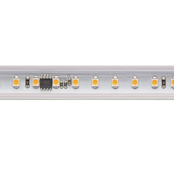 8W/m Hochvolt LED-Streifen 2700K 10m 120LED/m IP65 230V 560lm/m Ra90