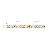 Vorschau: 9,6W/m Pro LED-Streifen 2700K 1m 120LED/m IP20 24V 610lm/m RA90
