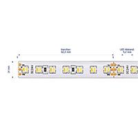 Vorschau: 19,2W/m Farbige LED-Streifen 2700-6500K 5m Tuneable 224LED/m IP68 24V 720+820lm/m RA90