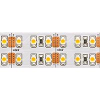 28,8W/m DOPPEL LED-STREIFEN 3000K INDOOR 5M 24V