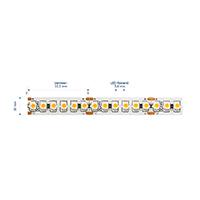 Vorschau: 14,4W/m Pro LED-Streifen 2700K 1m 180LED/m IP20 24V 883lm/m RA90