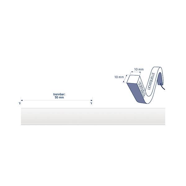 10W/m ART LED-Streifen 3000K 5m Omni 140LED/m IP68 24V 800lm/m RA80