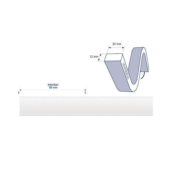 10W/m ART LED-Streifen 2700K 4m SIDE 140LED/m IP68 24V 610lm/m RA80