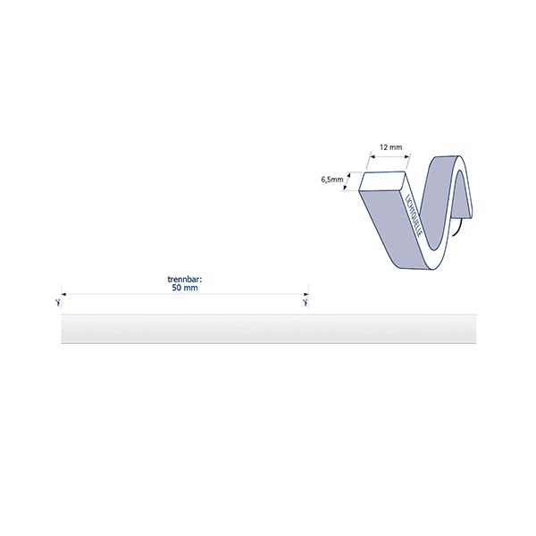 8W/m ART LED-Streifen RGB 5m SIDE 120LED/m IP68 24V 135lm/m RAX