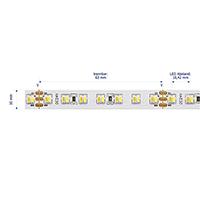 Vorschau: 23W/m Farbige LED-Streifen 2500-6000K 5m Tuneable 224LED/m IP20 24V 870+1000lm/m RA90