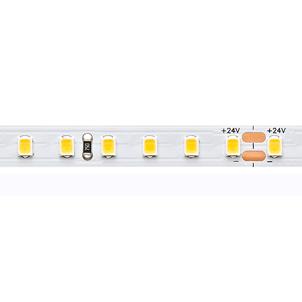 9,6W/m Expert LED-Streifen 3000K 5m EFFIZIENZ 128LED/m IP20 24V 1250lm/m RA90