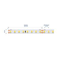 Vorschau: 9,6W/m Expert LED-Streifen 4000K 5m EFFIZIENZ 128LED/m IP20 24V 1370lm/m RA90
