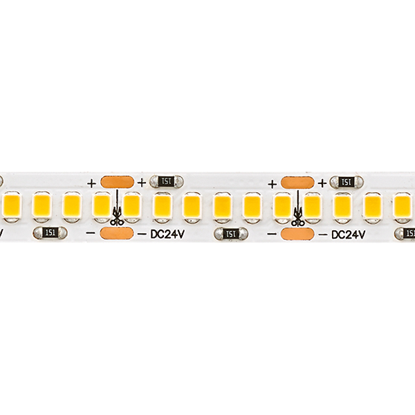 24W/m Pro LED-Streifen 2400K 5m 240LED/m IP20 24V 2085lm/m RA90