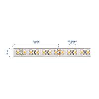 Vorschau: 9,6W/m Pro LED-Streifen 3000K 5m 120LED/m IP68 24V 462lm/m RA95