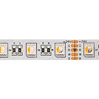 23W/m Farbige LED-Streifen RGB/2200K 5m RGB/2200K 72LED/m IP20 24V 720lm/m RAX