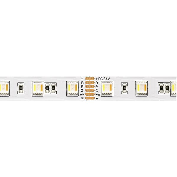 24W/m Farbige LED-Streifen RGB/2400-6000K 5m RGB/Tuneable White 60LED/m IP20 24V 1590lm/m RA90