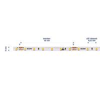 Vorschau: 9,6W/m Spezial LED-Streifen 3000K 5M Slim 4mm 120LED/m IP20 24V 940lm/m RA90