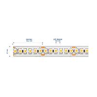 Vorschau: 14,4W/m Pro LED-Streifen 3000K 5m 180LED/m IP68 24V 694lm/m RA95