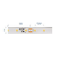 Vorschau: 10W/m Expert LED-Streifen 2700K 10m LONG DISTANCE 60LED/m IP68 24V 656lm/m RA95